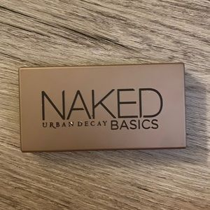 Discontinued Naked urban decay basics palette